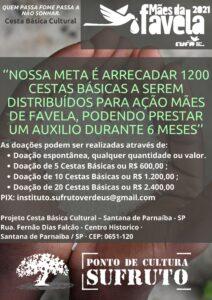"""Modelos de doação para ação """"Mães de Favela"""""""